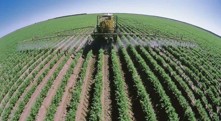 полив посевов