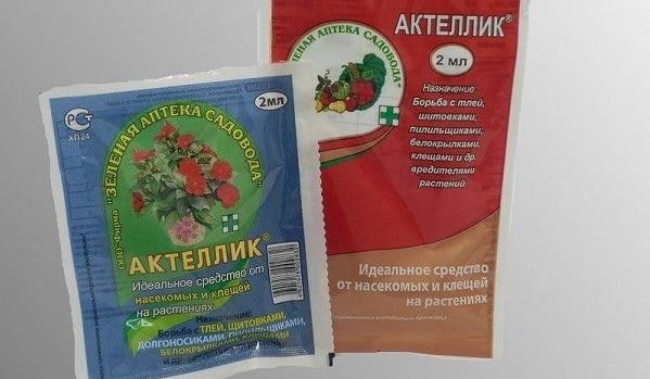 Актеллик инсектицид - инструкция по применению на грядках и для комнатных растений видео